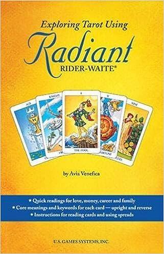Exploring Tarot Using Radiant Rider-Waite Tarot: Amazon.es ...