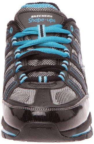 Donna Bbk schwarz Kinetix 12340 bktq Response Skechers Sneaker Nero noir 0wXqtRt1