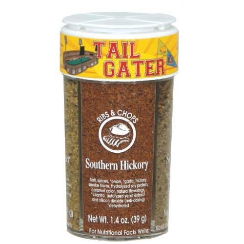 Dean Jacobs Tailgater Seasonings (Lemon Pepper & Herbs, Southern Hickory, Chipotle Blend, Char Grill), 5.3 Ounce Jar