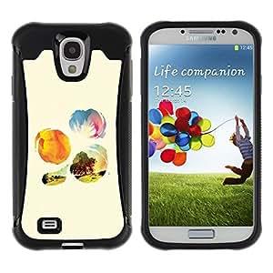 """Pulsar iFace Series Tpu silicona Carcasa Funda Case para Samsung Galaxy S4 IV I9500 , Naturaleza Sunshine árbol Flores de campo"""""""