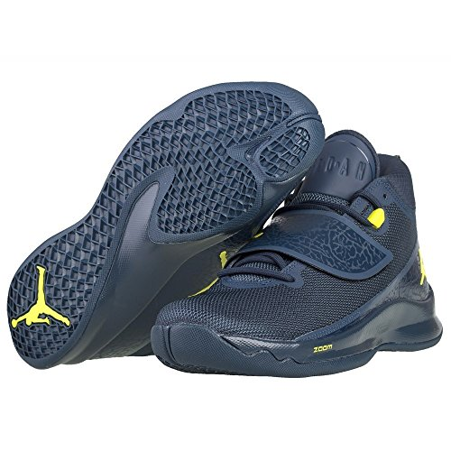 Nike Super.Fly 5Po Baloncesto Guantes Armory Navy/Armory Navy/Electrolime