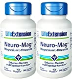 Life Extension Neuro-mag Magnesium L-threonate Dietary Supplements, 90 Capsules, Pack of 2 Review
