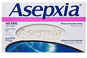Bath & Body 6 Pack Asepxia Neutral Cleansing Bar 4 Oz