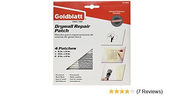 PaceSetter G15220 Assorted Drywall Repair Patch Pack - Wall Surface Repair Products - Amazon.com