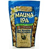 Dry Roasted Sea Salt Macadamia Nuts - Mauna Loa- BONUS GIFT by Mauna Loa