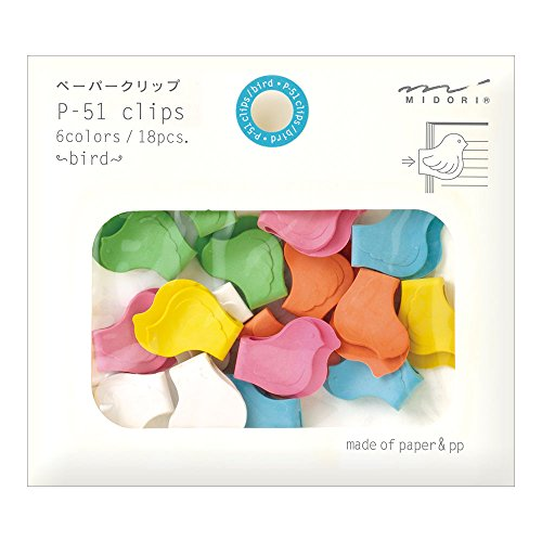 bird paper clips - 9