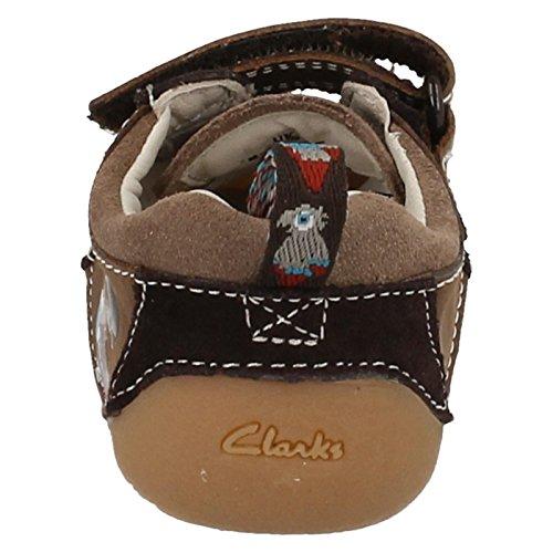 Boys Cruiser Clarks zapatos de Mate canela