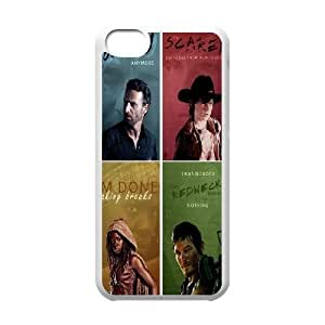Popular TV Show The Walking Dead Productive Back Phone Case For Iphone 5c -Style-11