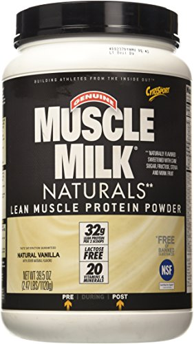 Milk Anabolic (CytoSport Natural Muscle Milk Vanilla Creme 2.48lb)