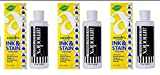 Amodex Ink and Stain Remover – Cleans Marker, Ink, Crayon, Pen, Makeup from Furniture, Skin, Clothing, Fabric, Leather - Liquid Solution - 4 fl oz Bottle - (Pack of 3)