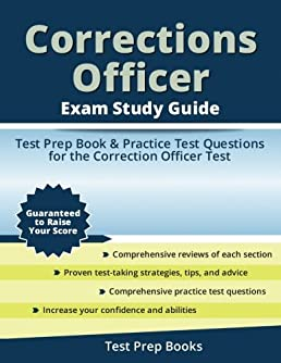 corrections officer exam study guide test prep book practice test rh amazon com correctional officer study guide test correctional officer study guide