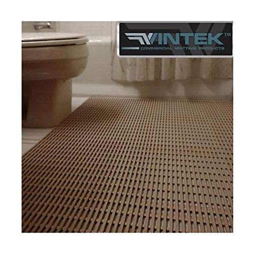 VinTek VinAir Pool, Locker Room, Shower, Patio or House and Office Entrance Water draining Floor mat (3x2, ()