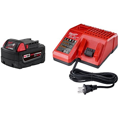Milwaukee 48-59-1850 M18 Xc 5.0 Starter Kit]()