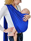 GudeHome Baby Wrap Infant Ring Sling Pouch Newborn to Toddler Travel-Quick Dry Water Pool Beach Carrier - Dark Blue