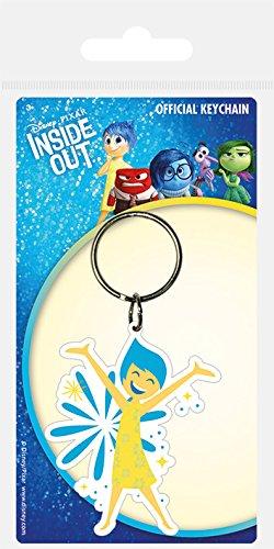 Disney Pyramid International Inside Out Joy Rubber Keychain, Multi-Colour, 4.5 x 6 cm RK38421C Movie & TV