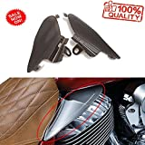 Smoke Reflective Saddle Heat Shields for Indian Roadmaster, Chief 2014-2017