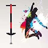 Pogo Stick,Outdoor Fun Jumping Pogo Jumper Jackhammer Jump Stick Sports Educational Toys for Kids...