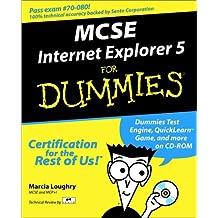 MCSE Internet Explorer 5 For Dummies