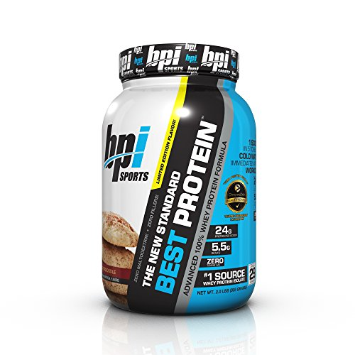 BPI Sports Best Protein Advanced 100% Whey Protein Formula, Snickerdoodle, 2 Pound