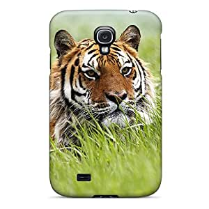 New Galaxy S4 Case Cover Casing(amazing Siberian Tiger)