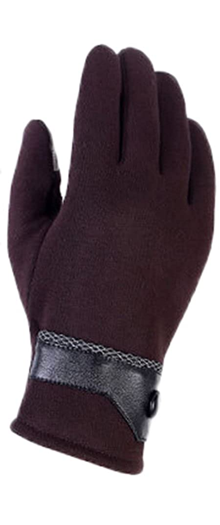 Mens Outdoor Ski Waterproof Winter Gloves Touch Screen Gloves for Phone Warm Thick Velour Mittens