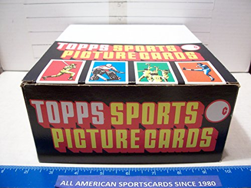 (1987 TOPPS BASEBALL RACK BOX OF 24 RACKS COUNT MINT)