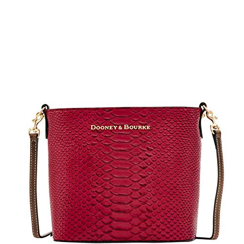 Dooney & Bourke Women Caldwell Collection Mini Waverly Cross-Body Bag, Wine ()