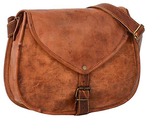 "Gusti Leder nature ""Charleen�?borsetta di pelle a tracolla per shopping party città pratica elegante K61b"