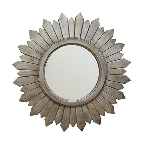 Stratton Home Decor S02379 Madilyn Wood Mirror (Stratton Dresser)