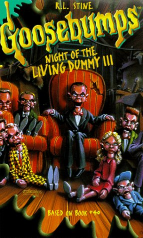 Goosebumps: Night of Living Dummy 3 [VHS]