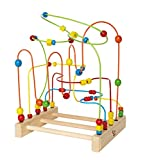 Hape Original Supermaze Wooden Bead Activity Learning Center
