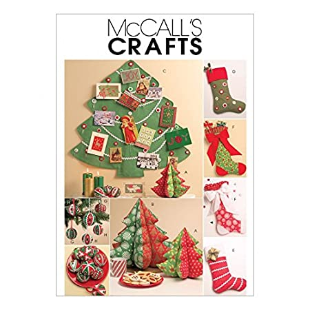 Mccalls Sewing Pattern 5778 Crafts For Christmas Sizes One Size By