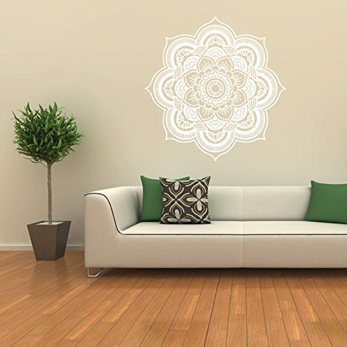 iLXHD Mandala Flower Indian Bedroom Wall Decal Art Stickers Mural Home Vinyl Family