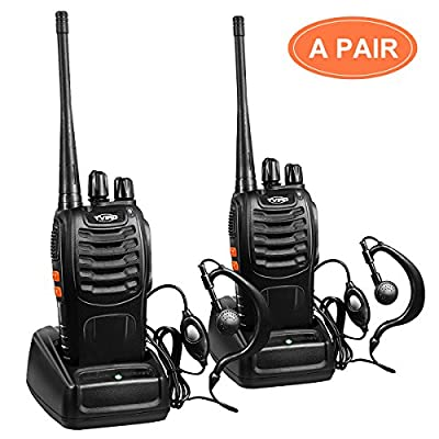 Walkie Talkies Two Way Radio Easy Operating Walky Talky Light Universal Walkie Talkie Two-way Radios 2pcs in One Box