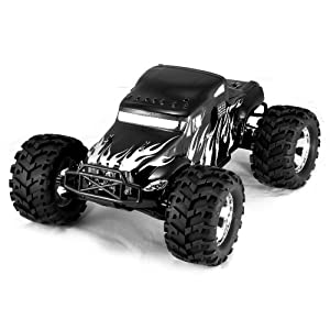 Redcat Racing Earthquake 3.5cc 2-Speed Nitro Semi Truck, Black, 1/8 Scale