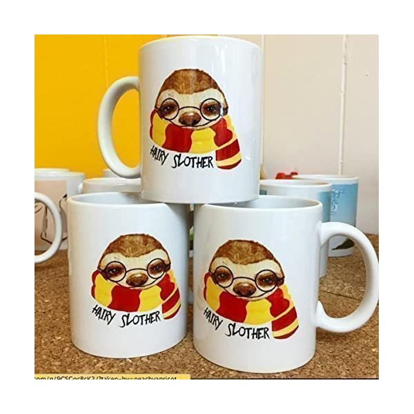 Peachyapricot Hairy Slother Sloth 11Oz Ceramic Coffee Mug -