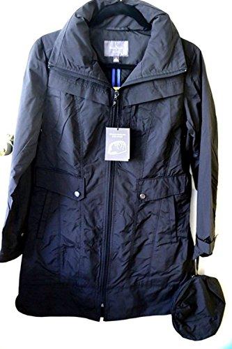 cole-haan-womens-raincoat-small-black