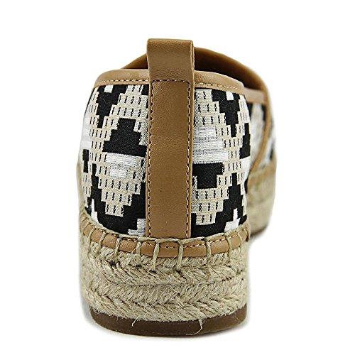 Espadrille Concepts Black Toe Round Flats INC Womens Caleyy2 Gold International FY7RxqS