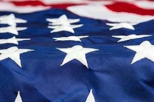 Veteran Appreciation US Flags - 3x5 Feet Perma-Nylon American Flag