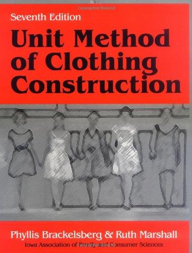 Unit Method Of Clothing Construction