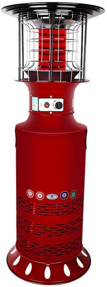 ZMXZMQ Calentador A Gas, Calentador De Patio De Pie, Calentador Vertical De Gas Licuado De Gas Natural Doméstico,Naturalgas
