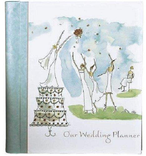 CR Gibson Bridal Party Wedding Planner (Ribbon Album Bound)