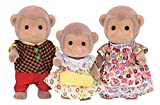 Calico Critters Mango Monkey Family and Red Panda Family
