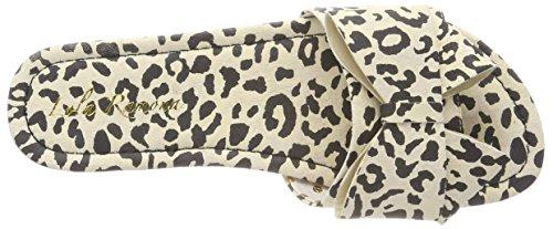 Sandalias Para Mehrfarbig Abierta Punta Ramona Con leopard Lola Coco Mujer xEnaYCWq