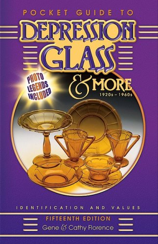 - Pocket Guide to Depression Glass & More 1920s-1960s (Pocket Guide to Depression Glass & More: 1920s-1960s: Identification & Values)