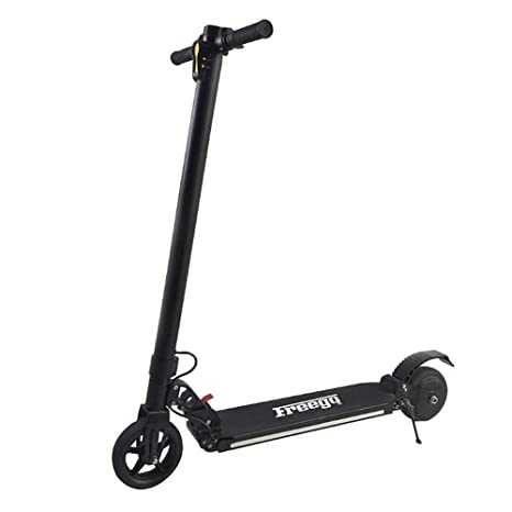 Amazon.com: IFreego Patinete eléctrico 250 W ligero plegable ...