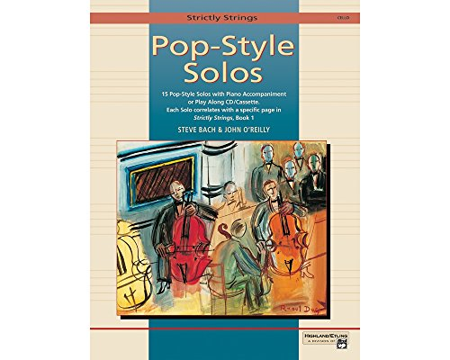 (Alfred Strictly Strings Pop-Style Solos Cello Book Only)