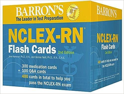 Barron's NCLEX Flashcards Review