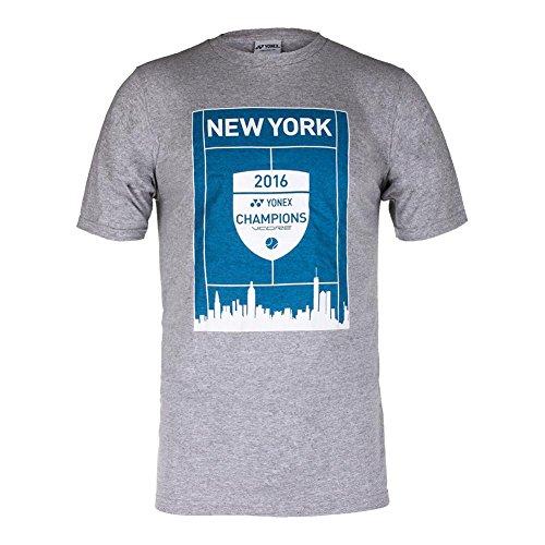 Yonex New York Championships Tennis T Shirt  Grey  Medium