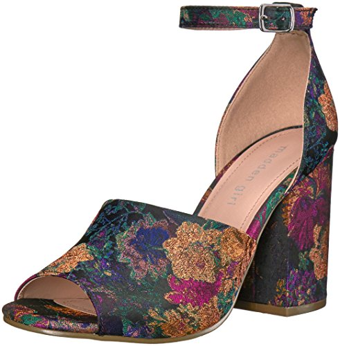 Madden Girl Women Clarah Dress Sandal Purple/Multi